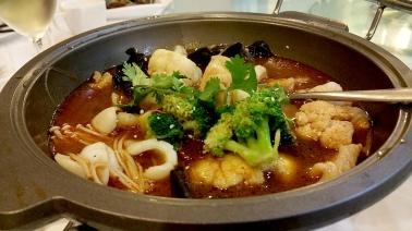 Combination Szechuan claypot