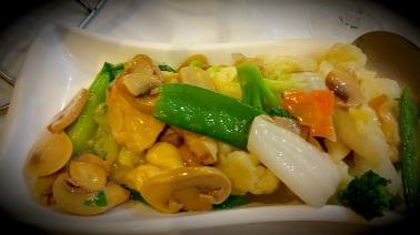 Stir fried veggies